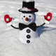a_snowman
